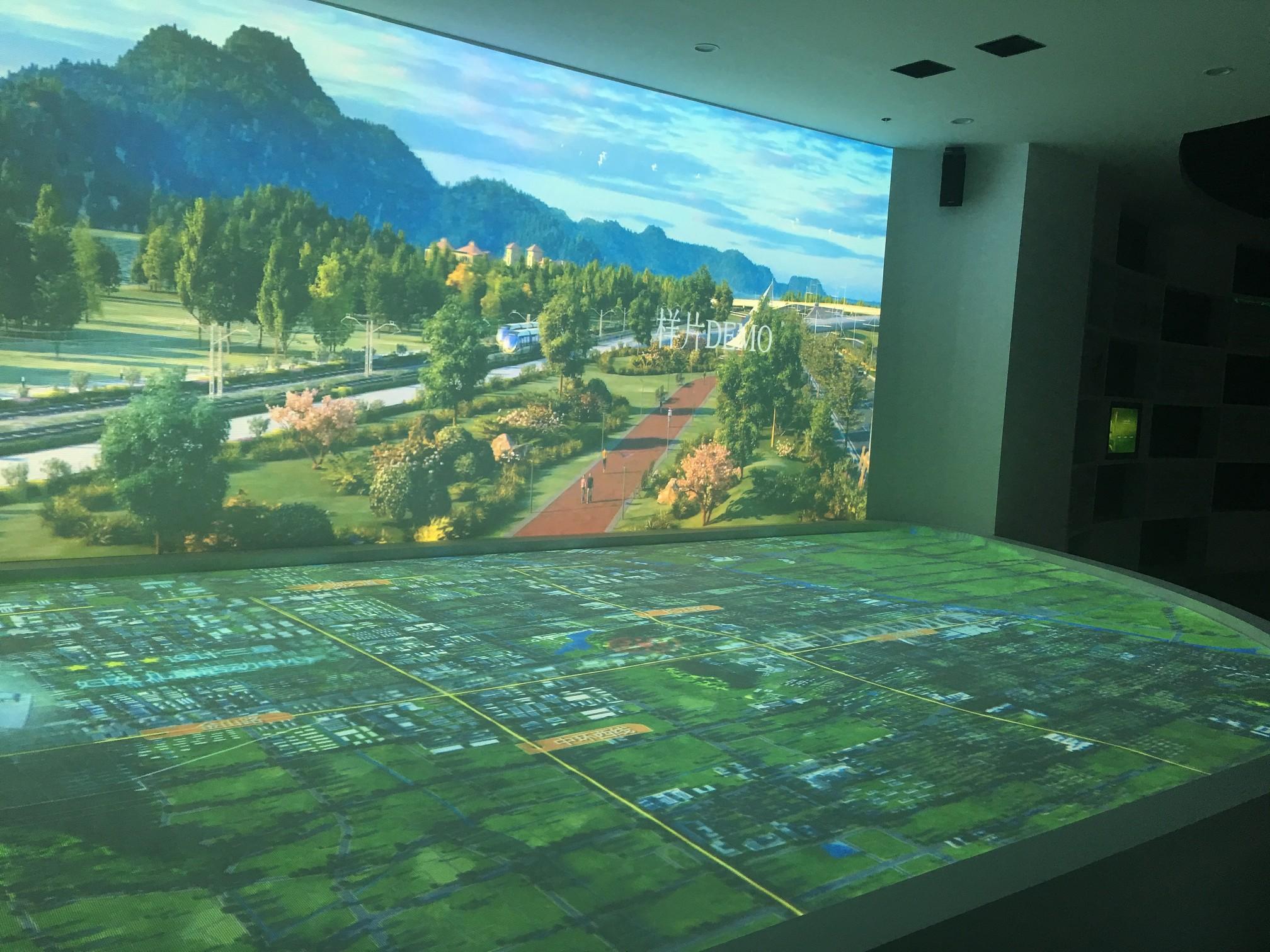 苏州有轨电车展厅数字沙盘系统