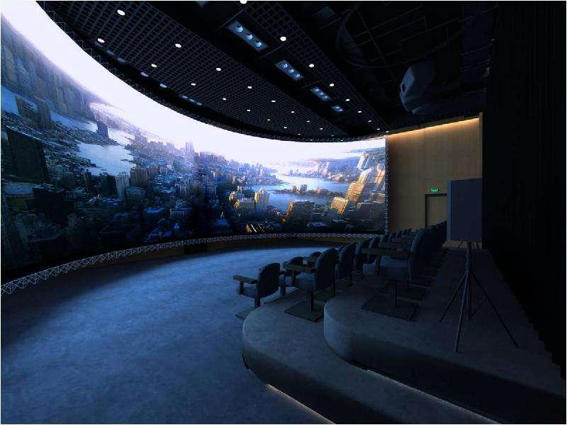 展厅投影效果图