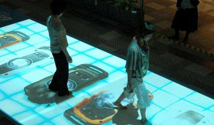 地面互动投影2