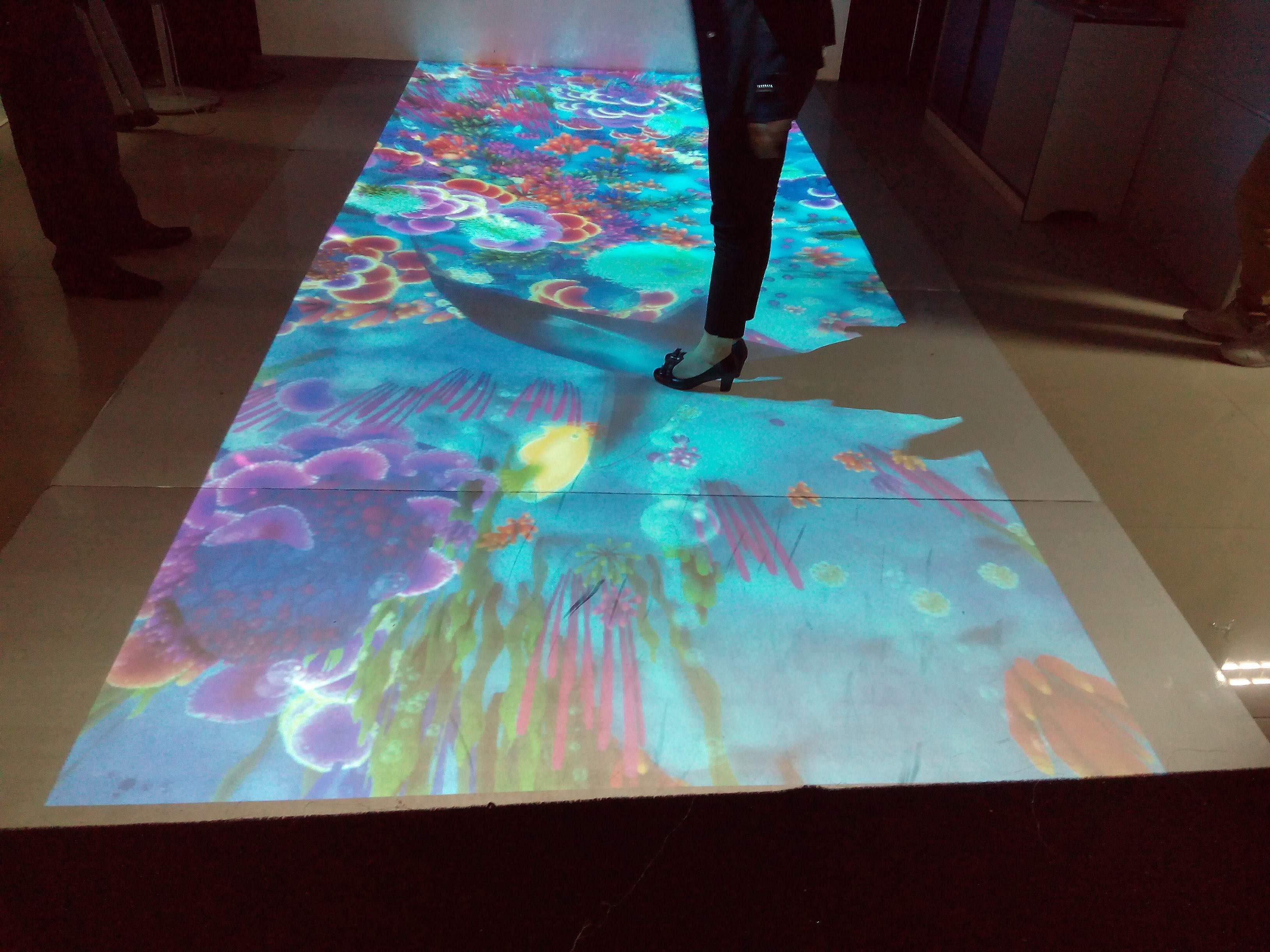 地面互动投影4