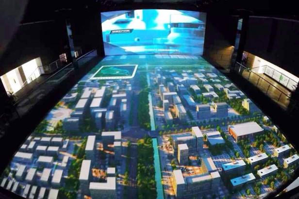城市规划数字沙盘1