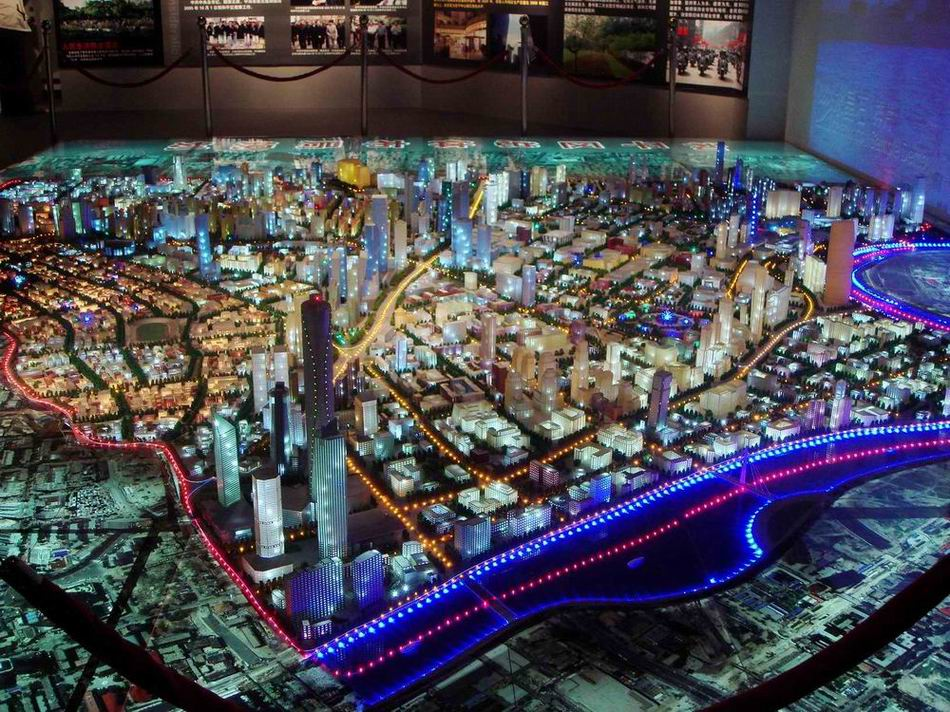 城市规划数字沙盘2