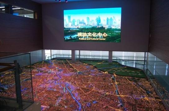 城市规划数字沙盘3