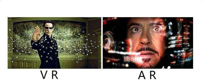 AR和VR的区别